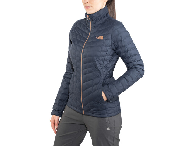 318809e9b The North Face Thermoball Full-Zip Jacket Women urban navy/metallc copper